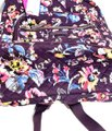 Vera Bradley Iconic Campus Floral Purple Cotton Backpack Vera Bradley Iconic Campus Floral Purple Cotton Backpack Image 7