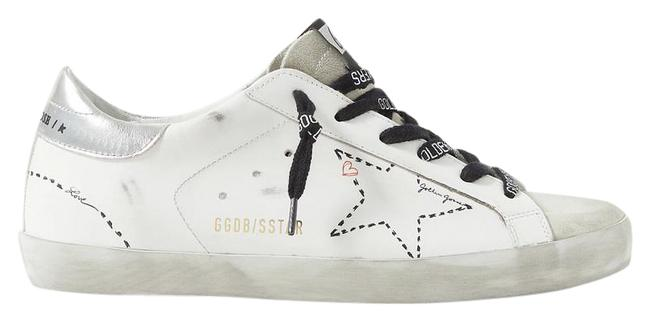 Item - White Black - New Season Superstar Sneakers Size EU 42 (Approx. US 12) Regular (M, B)