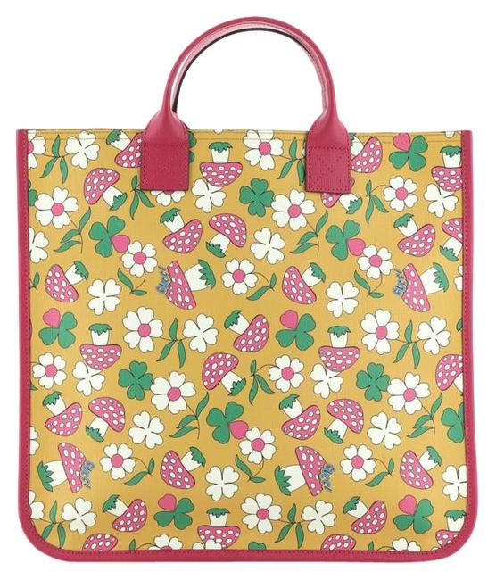 Item - Kid's Printed Coated Multicolor Canvas Tote