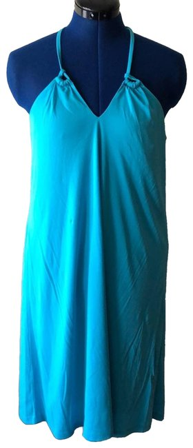 Item - Blue Halter Short Casual Dress Size 8 (M)