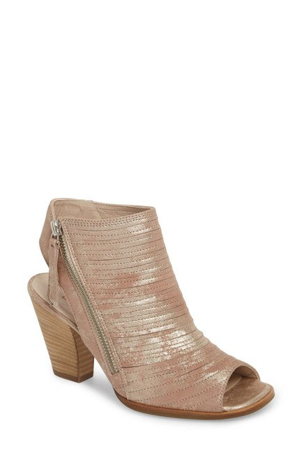 Item - Metalic Blush Cayanne Peep Toe Sandal (Ts7) Boots/Booties Size US 6 Regular (M, B)