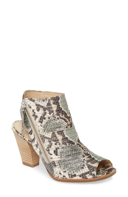 Item - Mamba Print Cayanne Peep Toe Sandal Leather (Ts7) Boots/Booties Size US 8.5 Regular (M, B)
