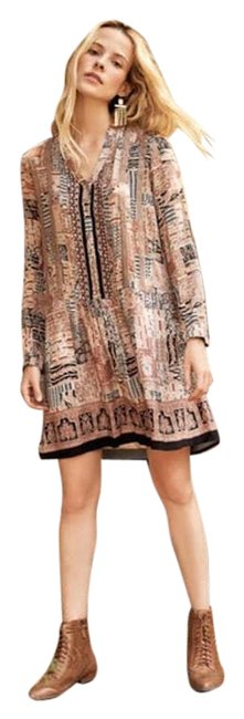 Item - Brown Ismelda Tunic Short Casual Dress Size 16 (XL, Plus 0x)