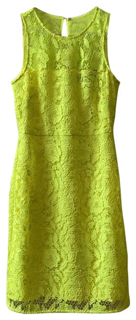Item - Yellow Collwection Fitted Short Cocktail Dress Size 2 (XS)