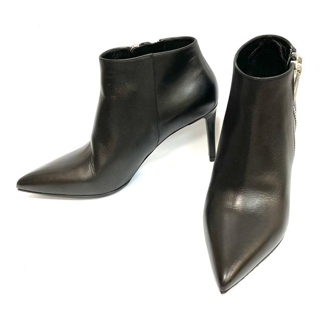 Item - Double Zip Leather Ankle Boots/Booties Size EU 39 (Approx. US 9) Narrow (Aa, N)