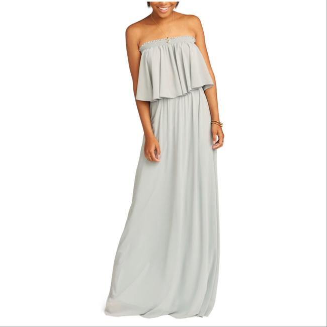 Item - Dove Grey Hacienda Long Casual Maxi Dress Size 12 (L)