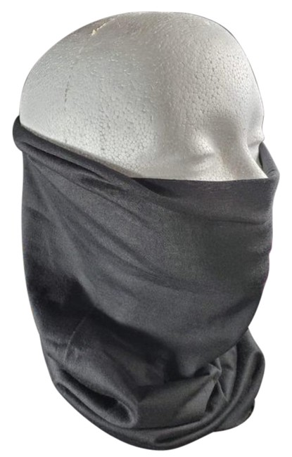 Item - Black Seamless Face Mask and Head Scarf/Wrap