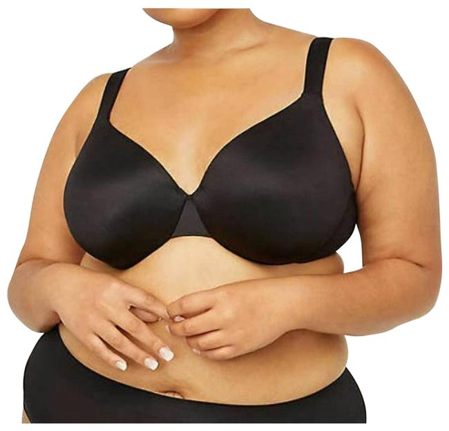Item - Smooth Underwire Full Coverage Black 54d Activewear Sports Bra Size OS (one size)