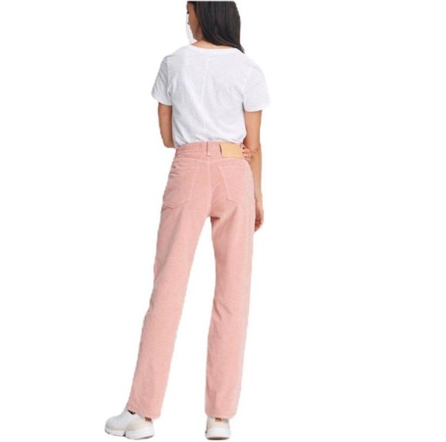 Item - Peach Medium Wash Trousers Flare Leg Jeans Size 32 (8, M)