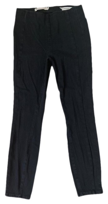 Item - Pilcro and The Letterpress Black Medium Wash Anthro Jeggings Size 28 (4, S)
