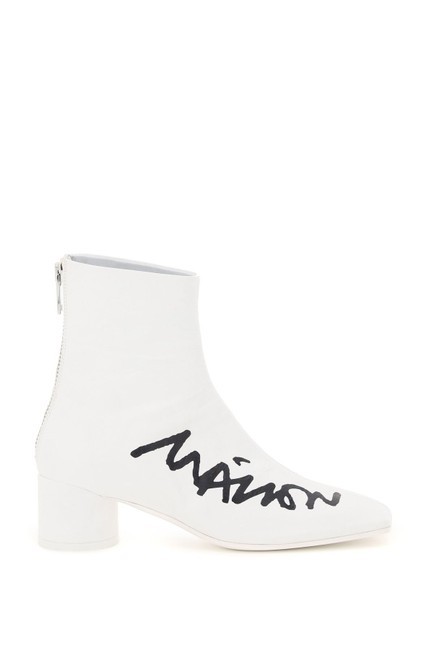 Item - Multicolored Logo Print Ankle Boots/Booties Size EU 40 (Approx. US 10) Regular (M, B)