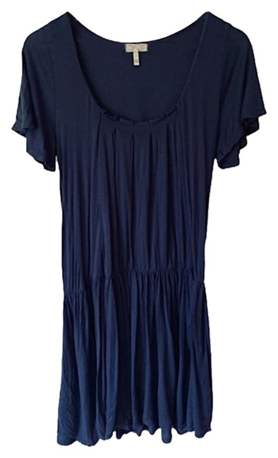 Item - Navy Blue Small Mid-length Formal Dress Size 6 (S)