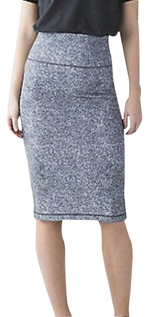 Item - Black Tube and From High Waist Pencil Rio Mist White S Skirt Size 6 (S, 28)