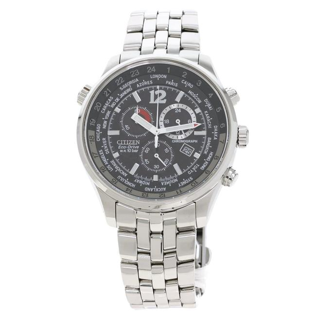 Item - Gn-4ws H500-s037565 Eco-drive Stainless Steel Men Watch