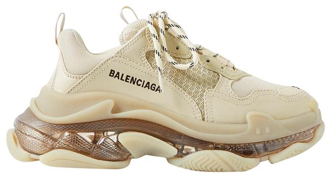 Item - Beige Eu34/36/39/40/41 Triple S Clear Sole Sneakers Size EU 36 (Approx. US 6) Regular (M, B)