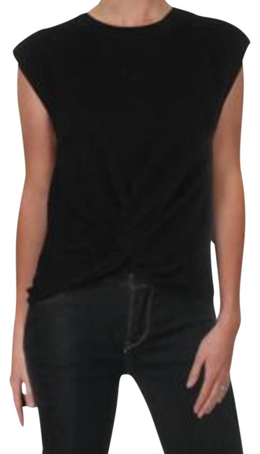 Item - Twist Cashmere Front Small Black Sweater