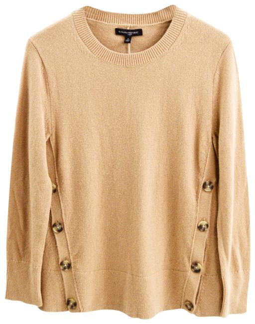 Item - Crew Neck #185-77 Tan Sweater