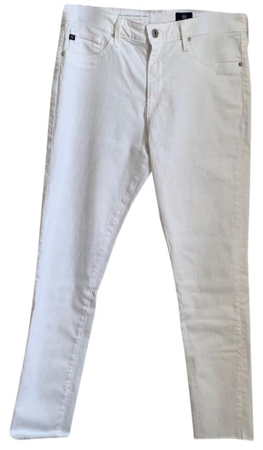 Item - White The Farrah Ankle Skinny Jeans Size 8 (M, 29, 30)