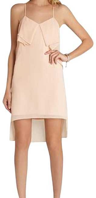 Item - Peach Flounce Night Out Dress Size 4 (S)
