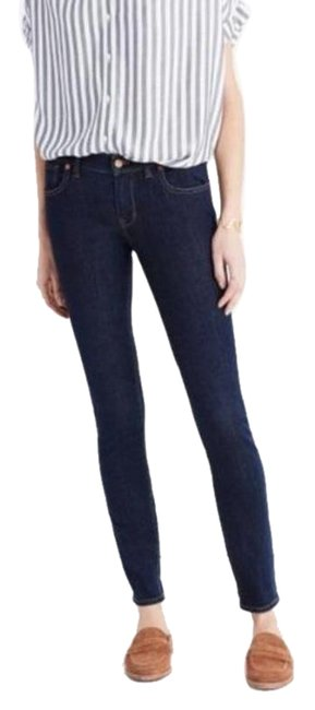 """Item - Blue Medium Wash 8"""" Quincy Skinny Jeans Size 27 (4, S)"""