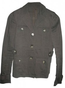 Theory Brown Linen Blazer