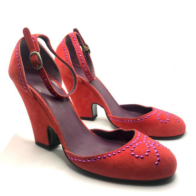 Item - Pink Suede Bow Wedges Size EU 37.5 (Approx. US 7.5) Regular (M, B)