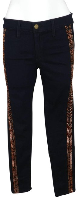 Item - Blue Dark Rinse The Bengal Midnight Wash Skinny Jeans Size 27 (4, S)