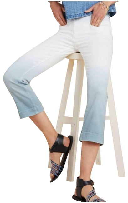 Item - White High-rise Dyed Flare Leg Jeans Size 25 (2, XS)