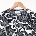 Christian Wijnants Mother Nature Knit Floral Black & White Sweater Christian Wijnants Mother Nature Knit Floral Black & White Sweater Image 3