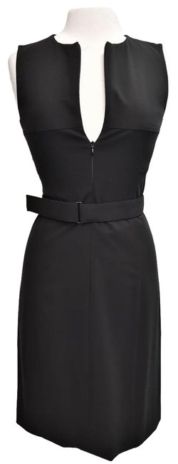 Item - Black Zip-up Small (4) Short Cocktail Dress Size 4 (S)