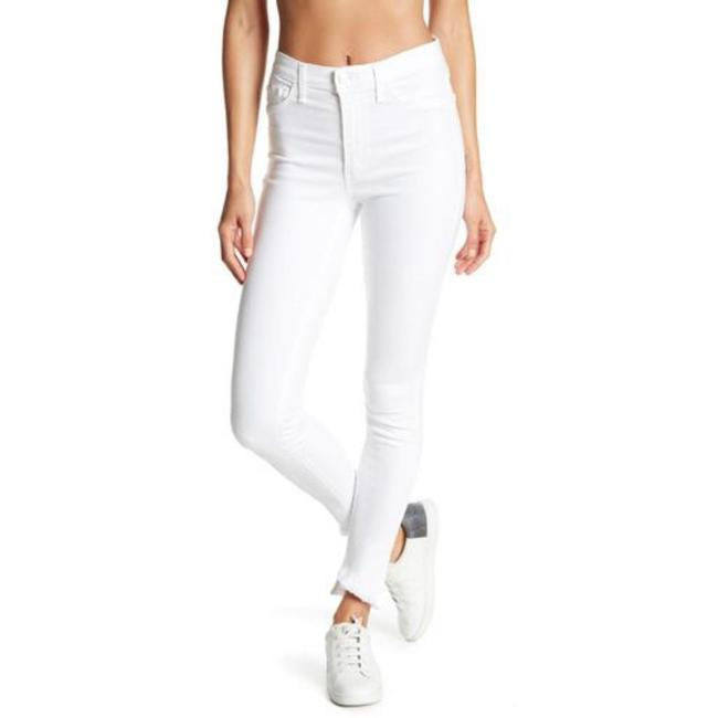 Item - White Light Wash Charlie Ankle Blondie Hem Skinny Jeans Size 30 (6, M)