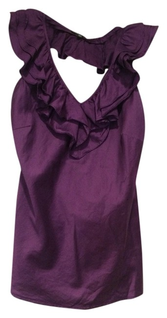 The Limited Purple Halter Top