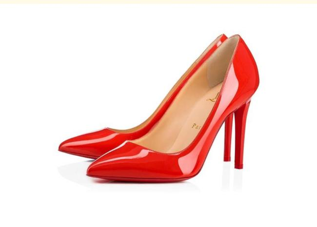 Item - Red Orange Patent Leather Pigalle 100 Pumps Size EU 38.5 (Approx. US 8.5) Regular (M, B)