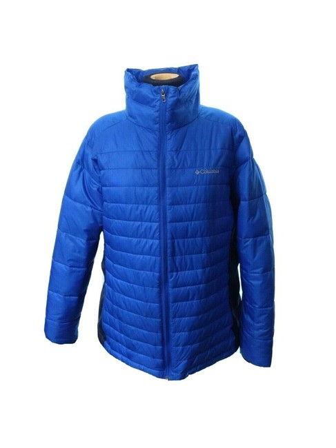 Item - Blue Powder Pillow Water Resistant Synthetic Down Puffer Coat Size 20 (Plus 1x)