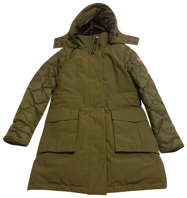 Item - Army Green Elwin Parka Coat Size 8 (M)
