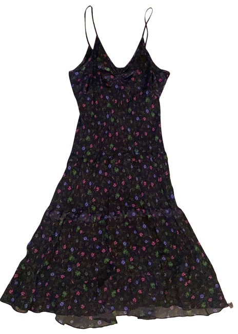 Item - Floral Mid-length Night Out Dress Size 6 (S)