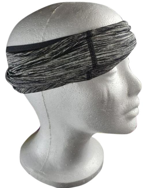 Item - Black Gray Face Mask and Head Scarf/Wrap
