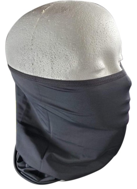 Item - Black West Biking Face Mask Head Scarf/Wrap