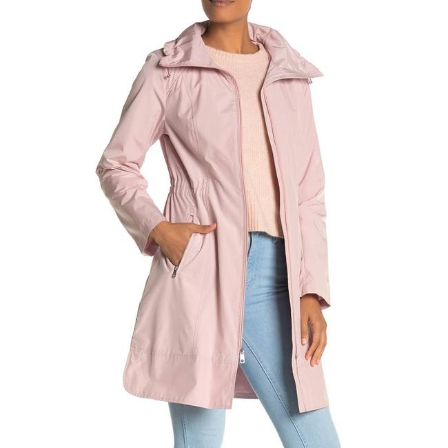 Cole Haan Pink L Packable Hooded Canyon Rose - Coat Size 14 (L) Cole Haan Pink L Packable Hooded Canyon Rose - Coat Size 14 (L) Image 1