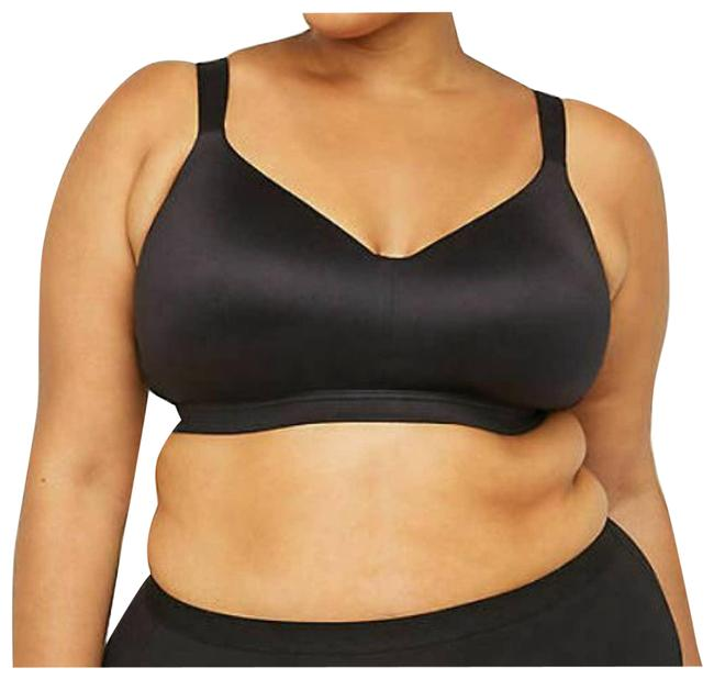 Item - Smooth No Wire Full Coverage Black 54b Activewear Sports Bra Size OS (one size)