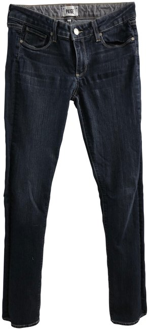 Item - Blue Dark Rinse Skyline Straight Skinny Jeans Size 29 (6, M)