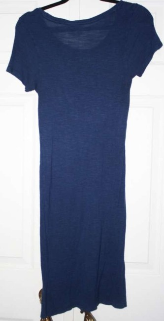 Majestic Filatures short dress blue Scoop Neck T Shirt Versitile on Tradesy