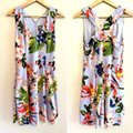 Vince Camuto Purple Blue Floral Fit & Flare Sleeveless Mid-length Short Casual Dress Size 10 (M) Vince Camuto Purple Blue Floral Fit & Flare Sleeveless Mid-length Short Casual Dress Size 10 (M) Image 6