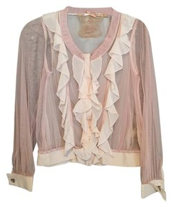 Twelve by Twelve Los Angeles Retro Top Beige