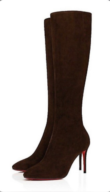 Item - Brown Eloise Arabica Suede Stiletto Boots/Booties Size EU 36 (Approx. US 6) Regular (M, B)