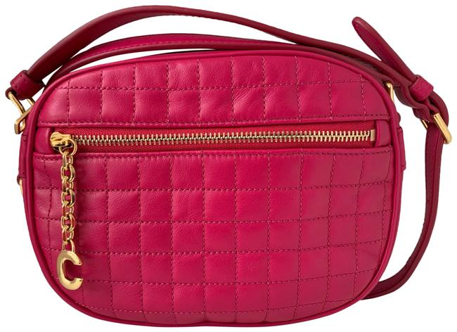 Item - Charm Pink Leather Cross Body Bag