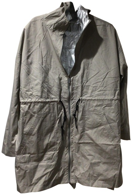 Item - Silver/Taupe Performance Coat Size 16 (XL, Plus 0x)
