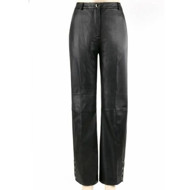 St. John Black Collection Marie Gray Leather Activewear Bottoms Size 10 (M, 31) St. John Black Collection Marie Gray Leather Activewear Bottoms Size 10 (M, 31) Image 8