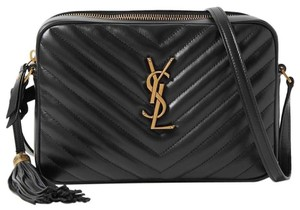 Item - Camera Bag Crossbody New Ysl Quilted Purse Black Leather Tote