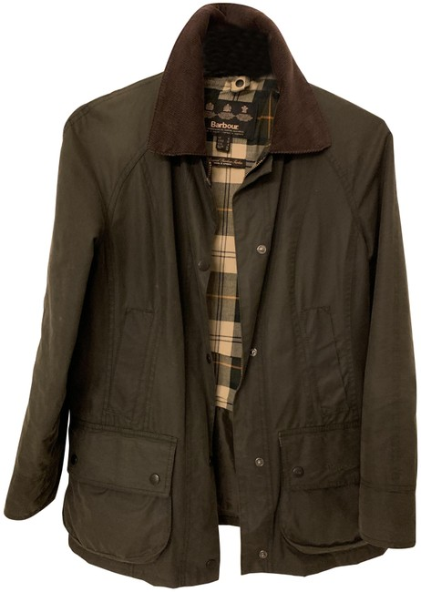 Item - Olive Green Beadnell Coat Size 4 (S)